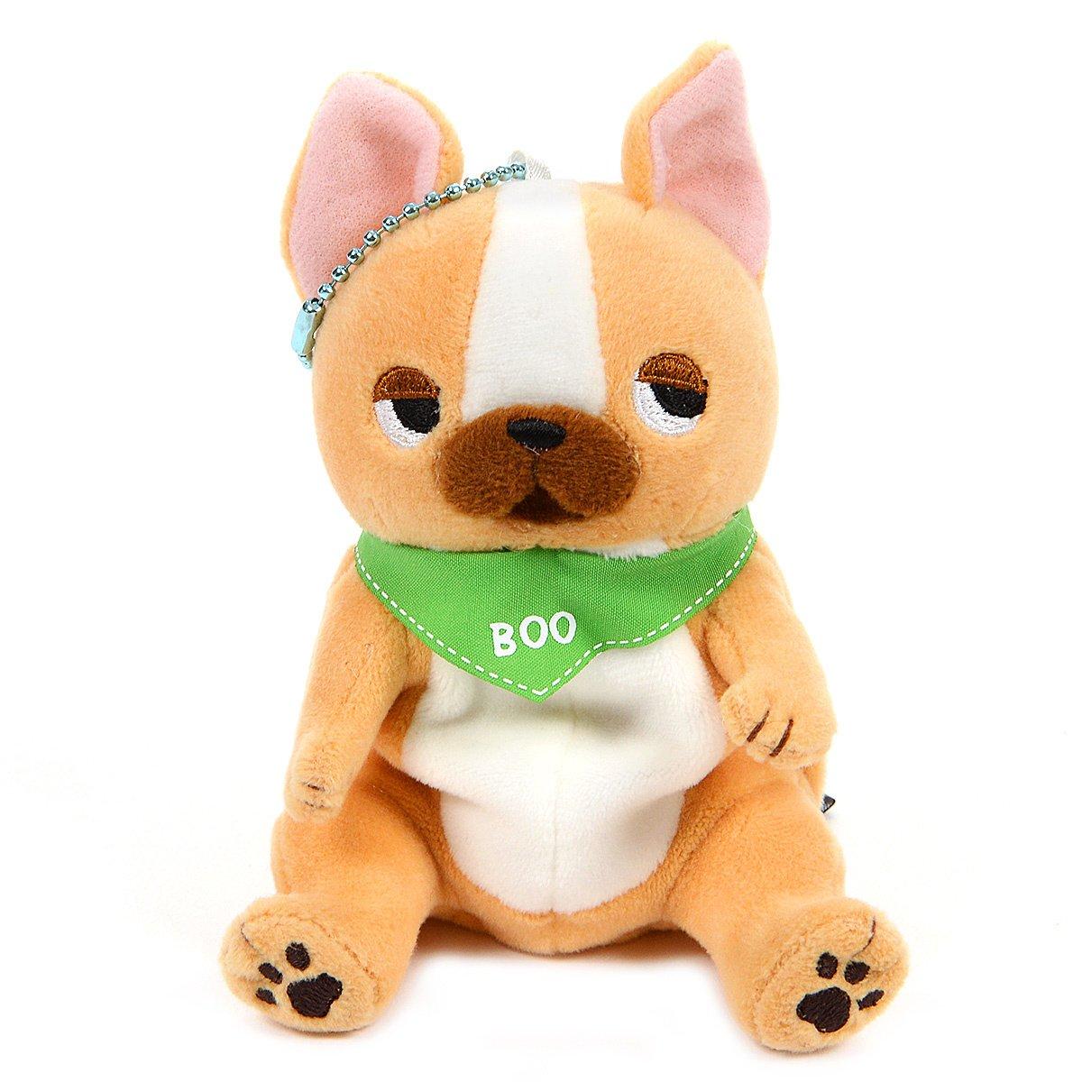 Plush Pug, Amuse, Buruburu Boo!, Gabugabu, Brown, 4 Inches