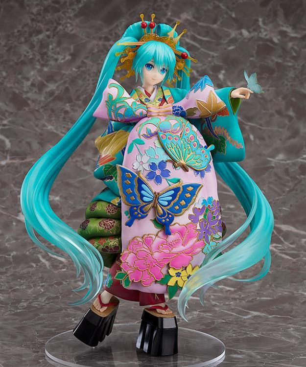 Hatsune Miku Figure,  Chokabuki Kuruwa Kotoba Awase Kagami Kimono Ver. 1/7 Scale Pre-Painted Figure, Good Smile Company