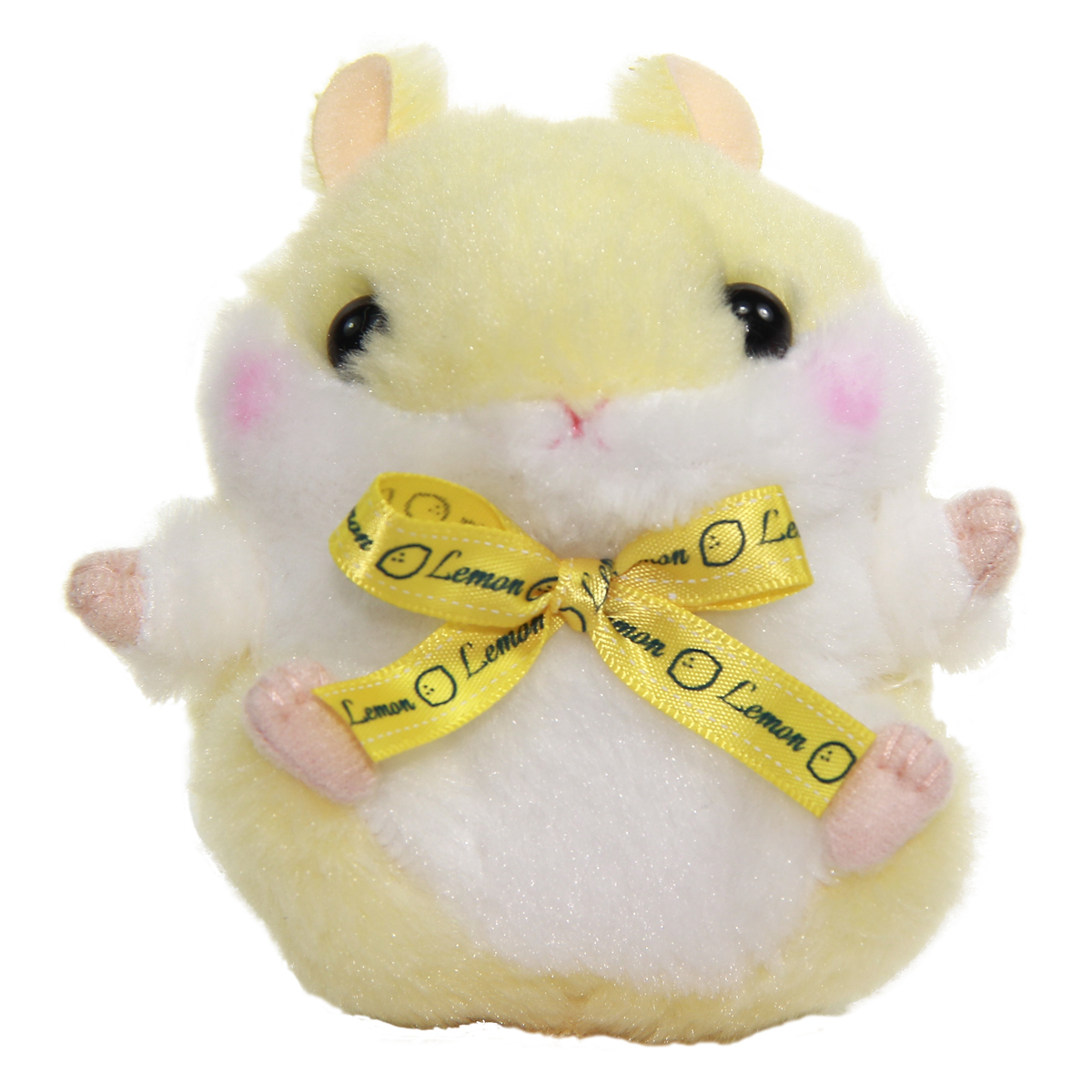 Plush Hamster, Amuse Colorful Fruits Plush Collection, Lemon-chan, Yellow, 4 Inches