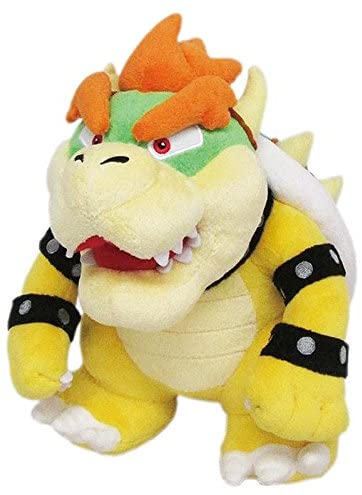 Super Mario All Star Collection Bowser Plush Doll 9