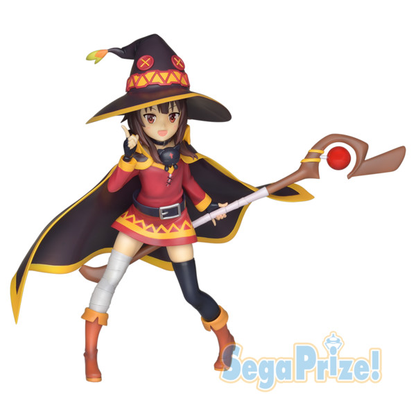 Megumin Figure, Limited Premium Figure, KonoSuba Gods blessing on this wonderful world!, Sega