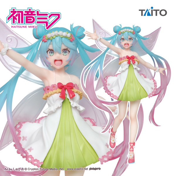 Hatsune Miku Fairy Figure, 3rd Spring Version, Vocaloid, Taito