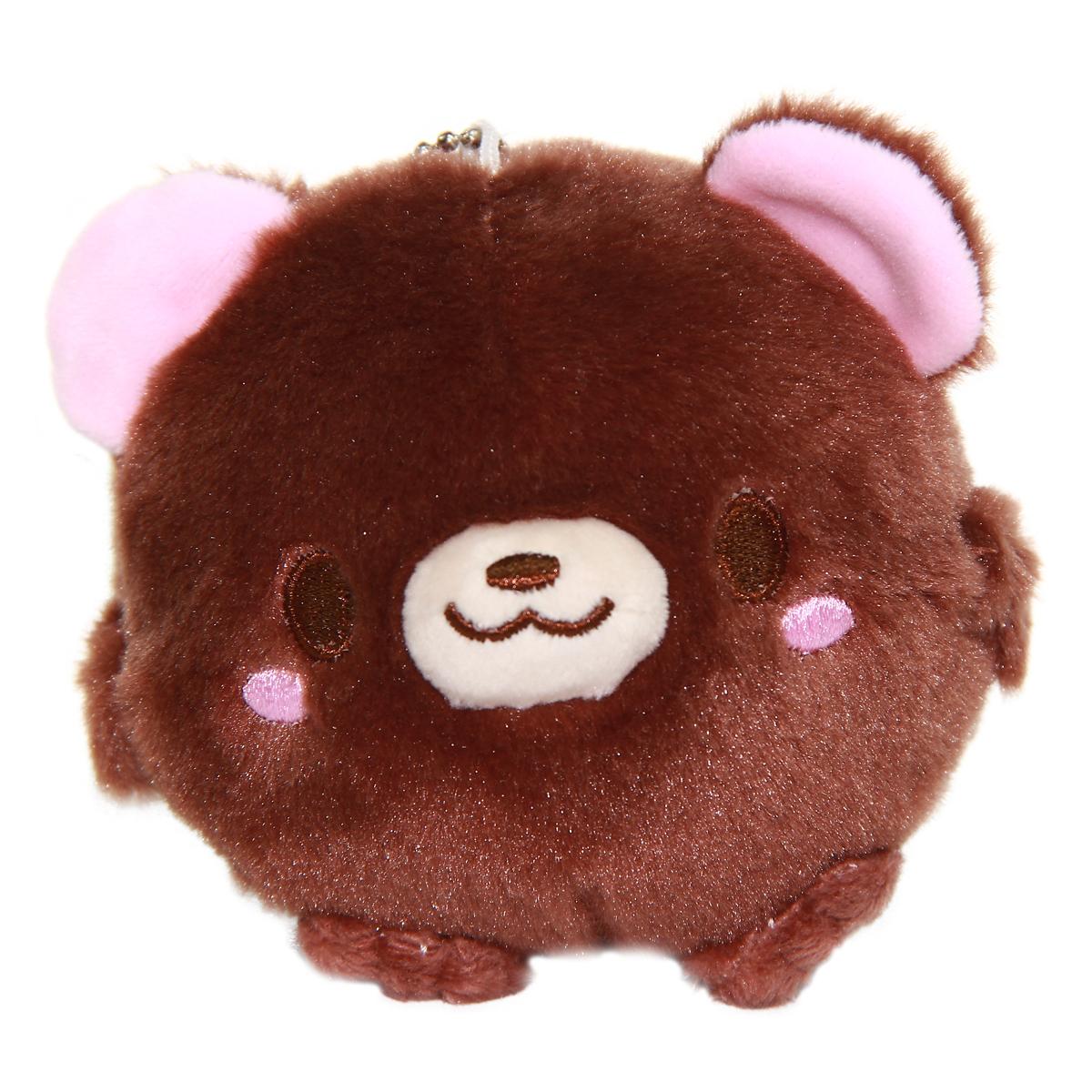 Bear Plush Doll Kawaii Stuffed Animal Soft Fuzzy Squishy Plushie Mochi Brown