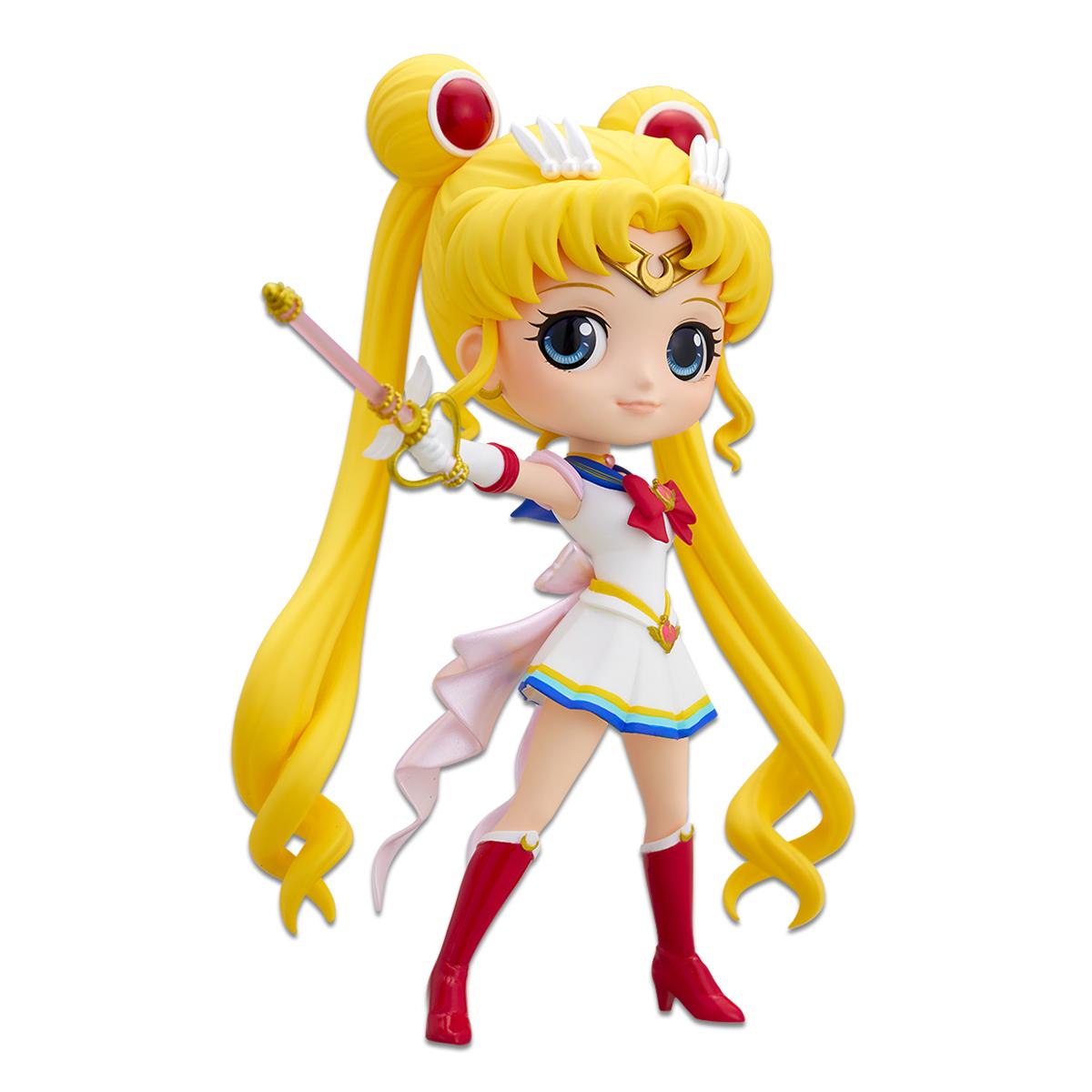 Super Sailor Moon Figure, Usagi Tsukino, Kaleidoscope Version, Q Posket, Banpresto Bandai