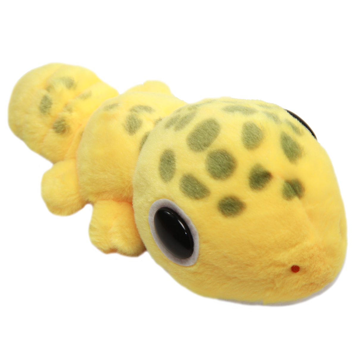 Leopard Gecko Plushie Super Soft Squishy Stuffed Animal Toy Yellow Size 8 Inches
