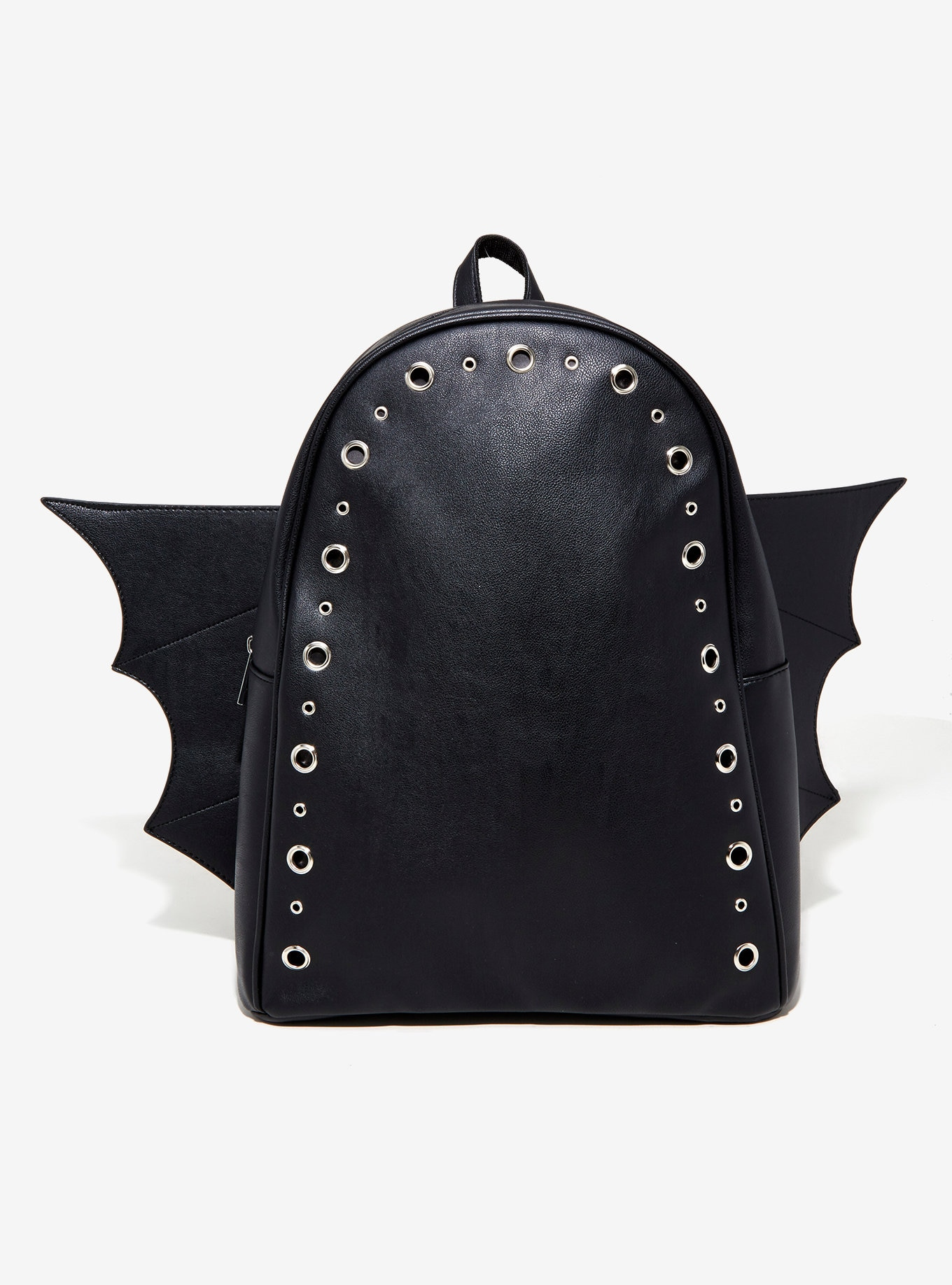 Gothic Lolita Black Bat Backpack With Wings Bag