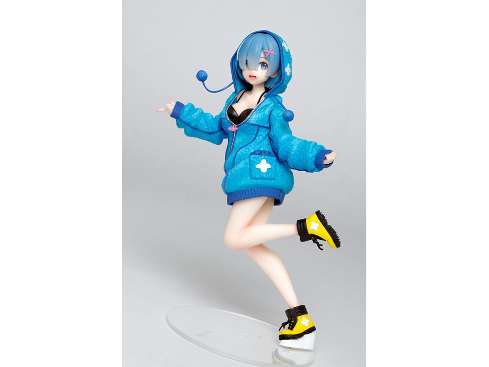 Rem Precious Figure, Fluffy Parka Ver., Re:Zero - Starting Life in Another World, Taito