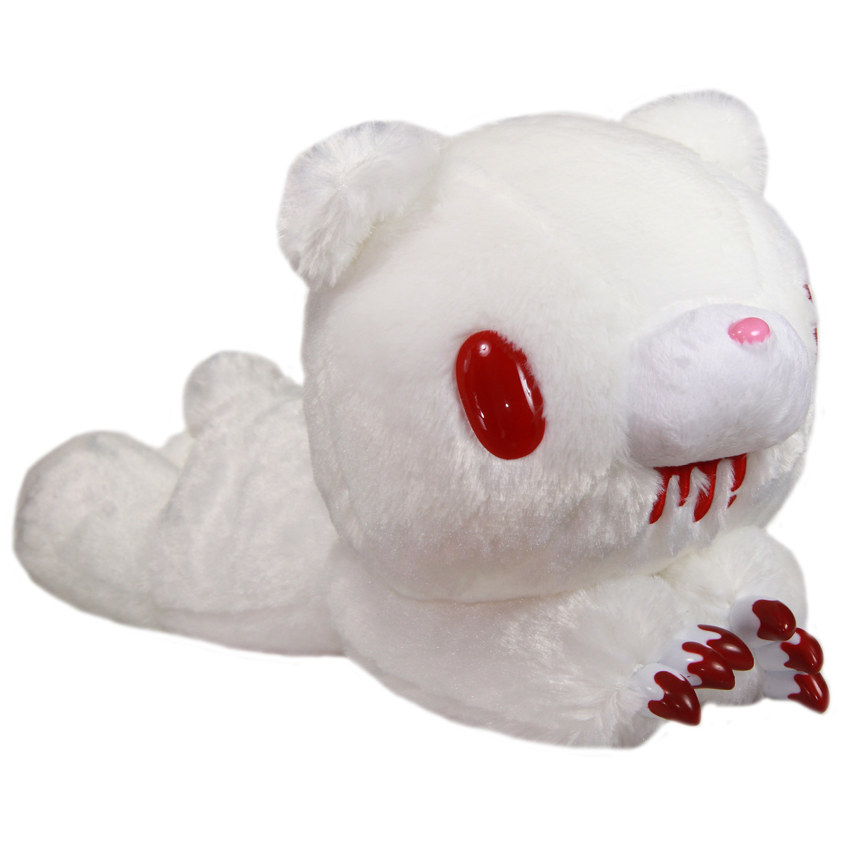 Taito Gloomy Bear Plush Doll Laying Down GP #546 White 16 Inches