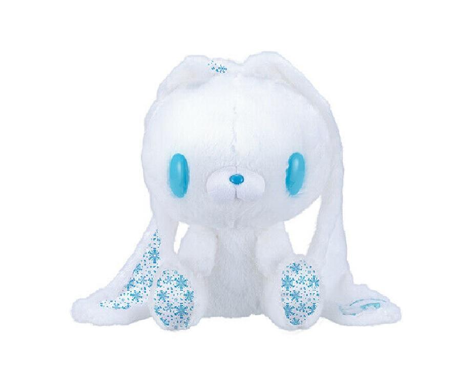Taito Gloomy Bear Bunny Plush Doll Winter Edition GP #571 White Blue 12 Inches