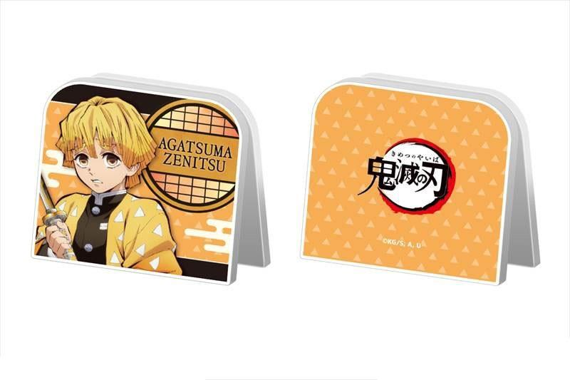 Demon Slayer Kimetsu No Yaiba Acrylic Memo Stand Clip 01 Zenitsu Agatsuma Character Goods
