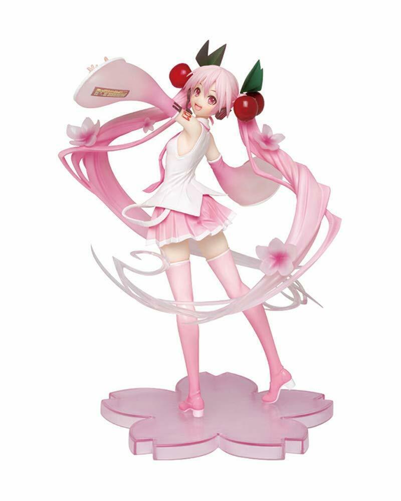 Hatsune Miku Figure, Sakura Miku, 2020 Ver. Vocaloid, Taito