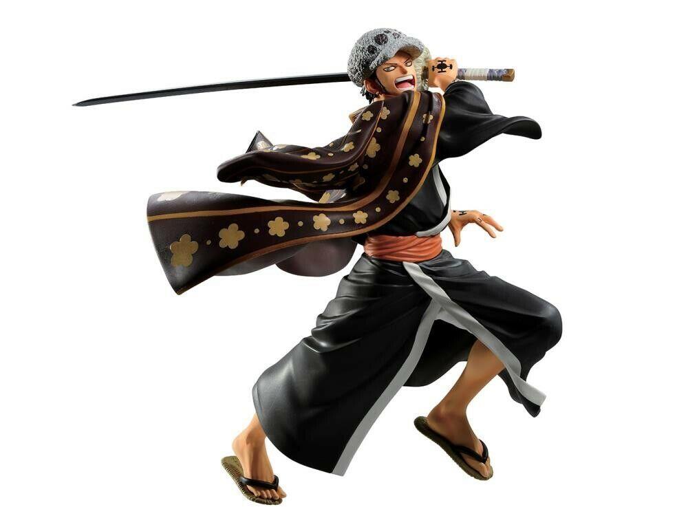 Trafalgar Law Figure, Ichiban Kuji D Prize Figure, One Piece, Full Force, Banpresto, Bandai