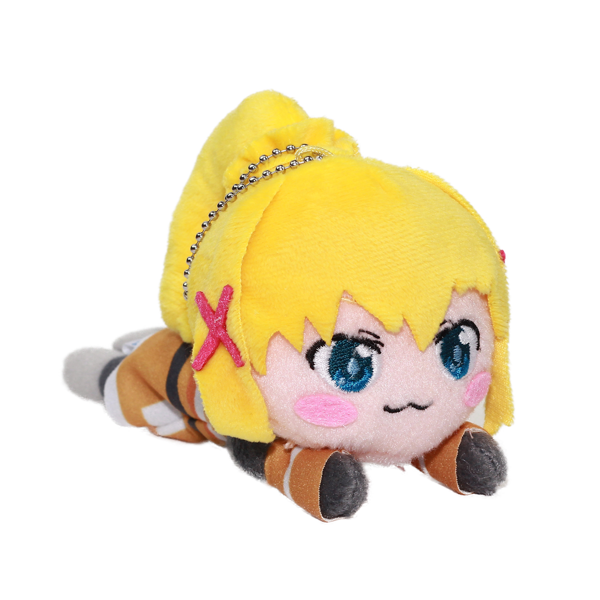 Konosuba Darkness Plush Doll Gods Blessing on This Wonderful World!, Sega, Keychain Size 5 Inches