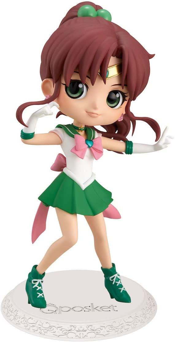 Sailor Jupiter Figure, Q Posket, A Version, Sailor Moon Eternal, Banpresto