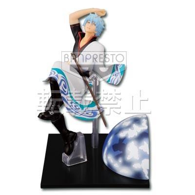 Sakata Gintoki Figure, Ichiban Kuji, B Prize Figure, Gintama, Gold Silver, Banpresto