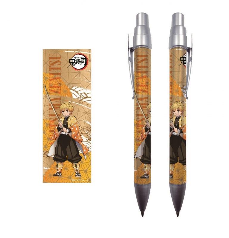 Demon Slayer Mechanical Pencil  Zenitsu Agatsuma Anime Stationery Kimetsu No Yaiba