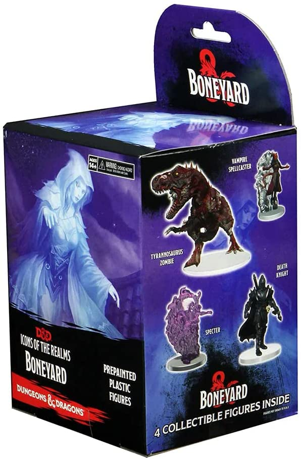 Dungeons & Dragons D&D Icons of The Realms Miniatures: Boneyard Booster Blind Box