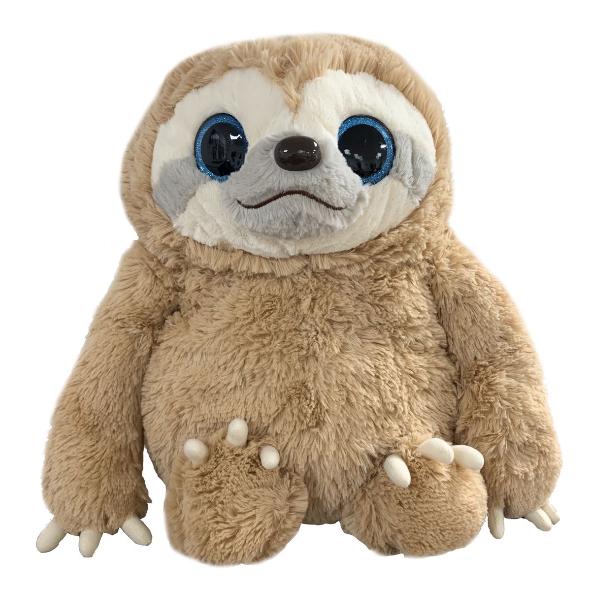 Momoko, Namakemono No Mike, Sloth Plush, Brown, Amuse BIG Size, 17 Inches