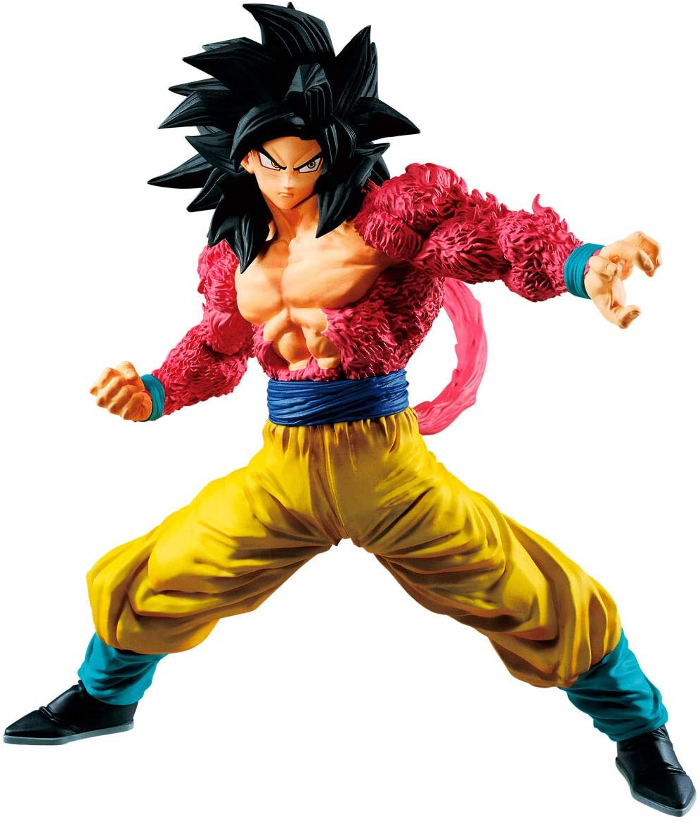 Son Goku Figure, Dragon Ball Gt Full Scratch The Super Saiyan 4, Banpresto