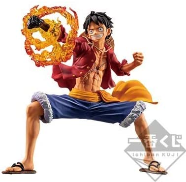 Monkey D. Luffy Figure, Treasure Cruise, A Prize Figure, One Piece, Ichiban Kuji, Bandai