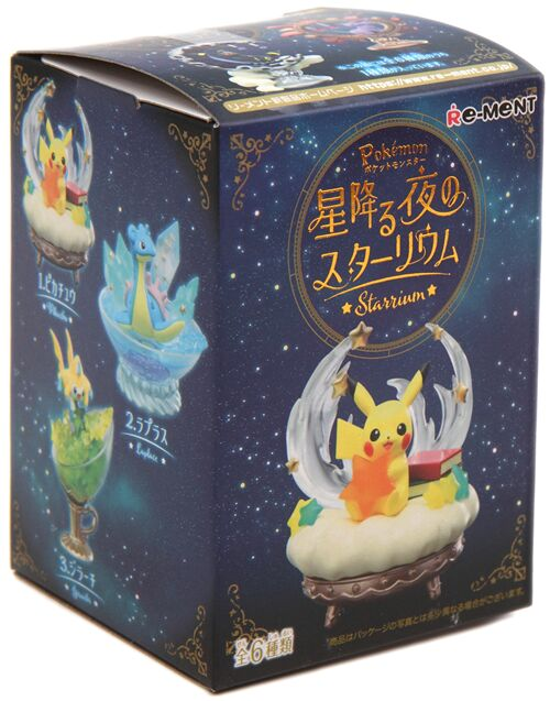 Pokemon Starry Night Starrium Random Blind Box Figure Re-Ment