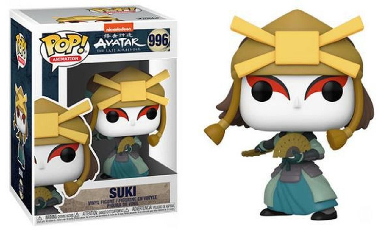 Suki Figure, Avatar The Last Airbender Funko Pop Animation 3.75 Inches - Funko Pop 996
