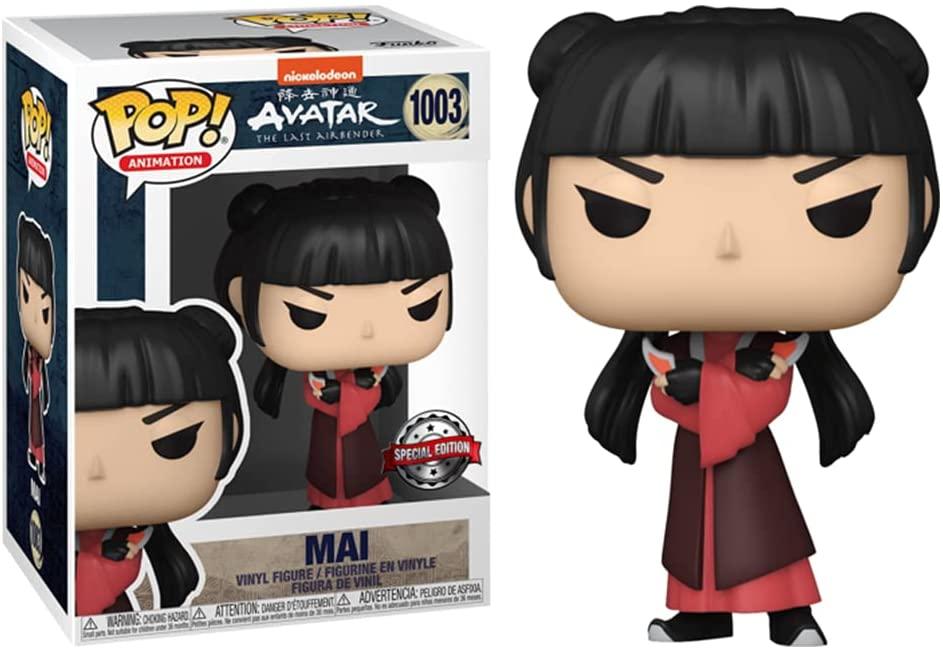Mai Figure, Special Edition, Avatar The Last Airbender Funko Pop Animation 3.75 Inches - Funko Pop 1003