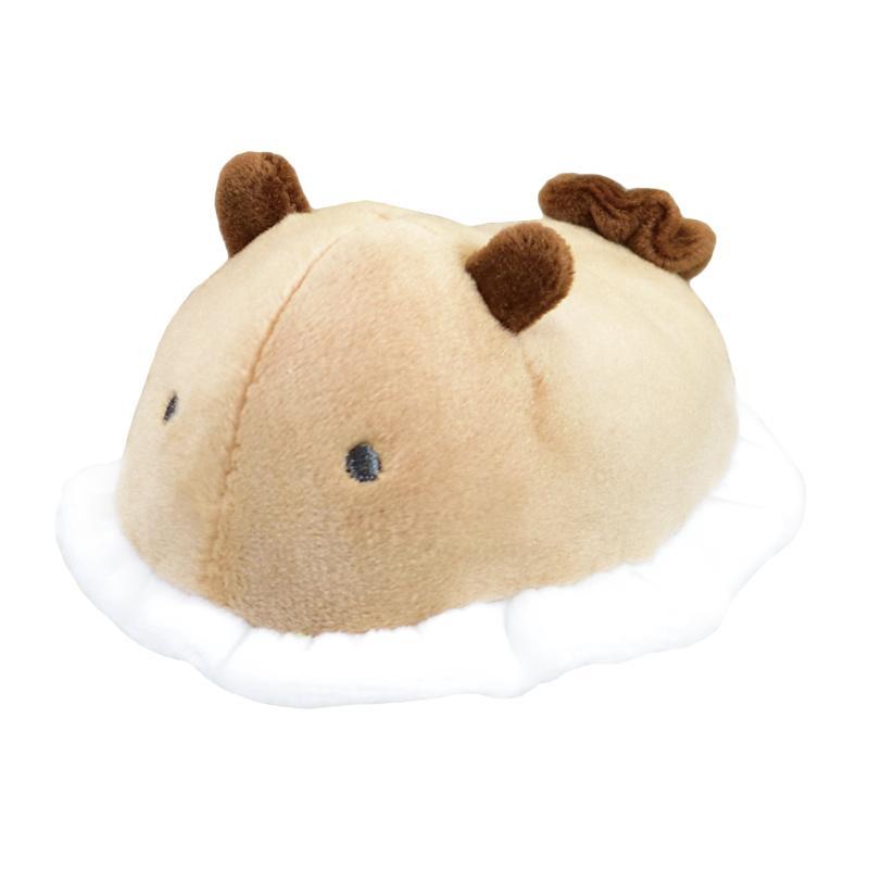 Sea Slug Plush Toy Sea Bunny Nudibranch Collection Umi Ushi Brown White Small Size 4