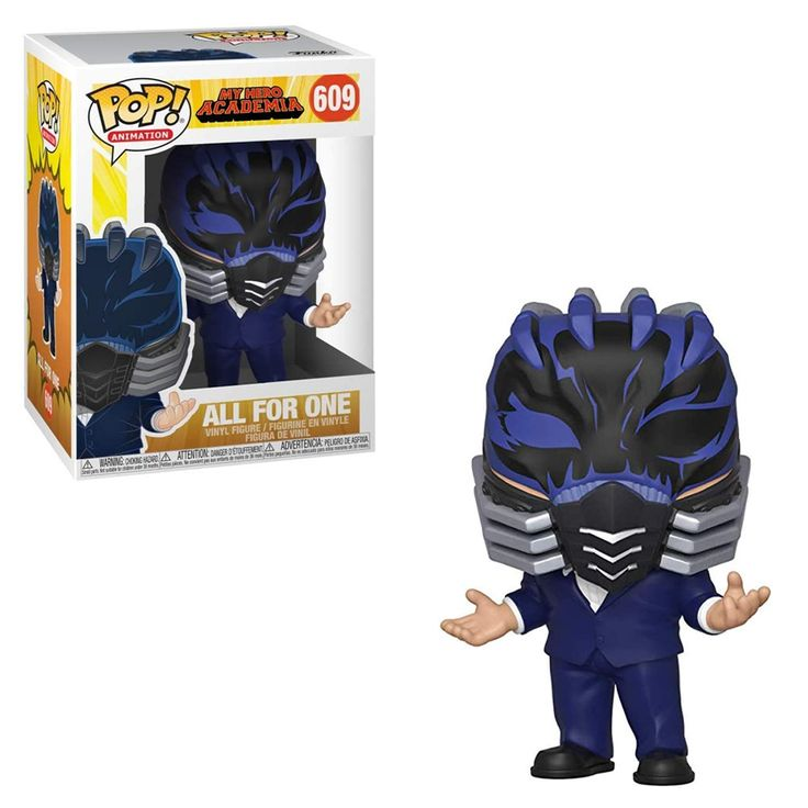 All For One My Hero Academia Funko Pop Animation 3.75 Inches Funko Pop 609