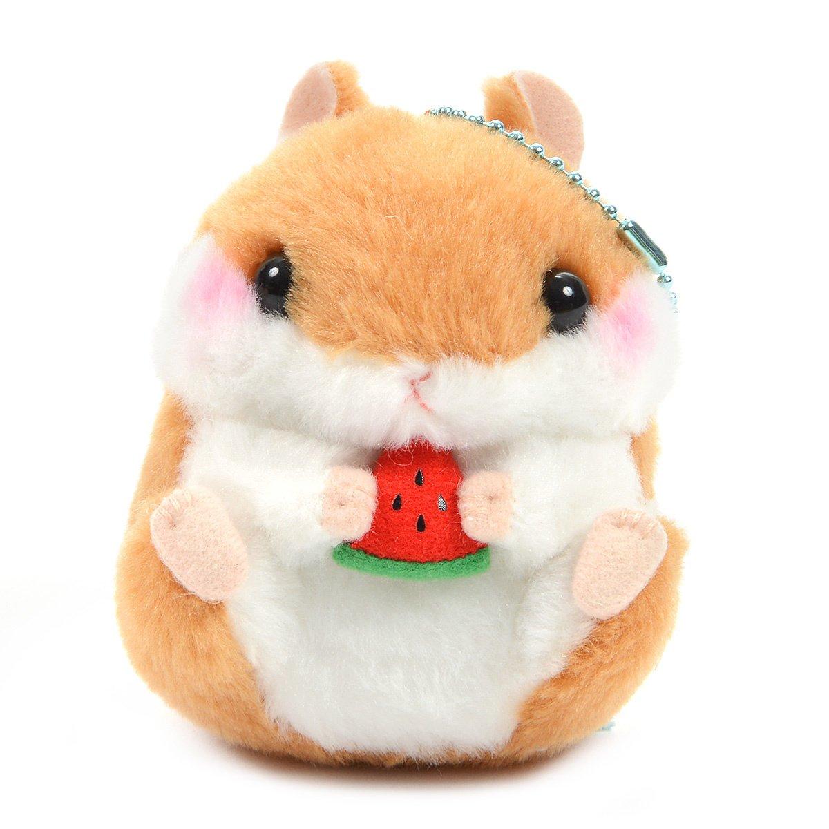 Plush Hamster, Amuse, Coroham Coron, Coron, Brown, 4 Inches