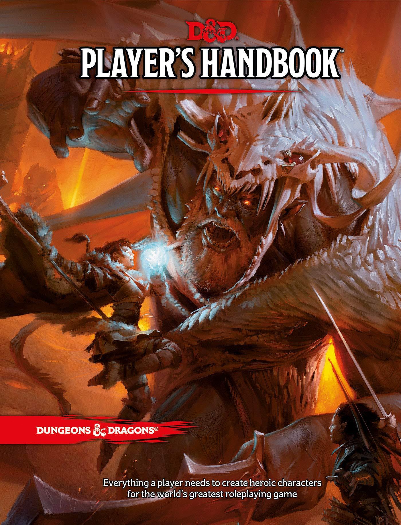 Dungeons & Dragons D&D Players Handbook