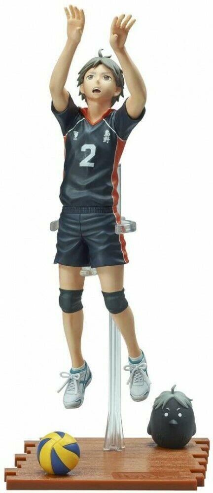 Koshi Sugawara Figure, 1/8 Scale Pre-painted Statue, Players Series, Haikyuu!!, Takara Tomy Arts