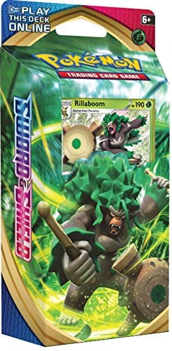 Pokemon Trading Card Game Sword & Shield Rillaboom Battle Deck TCG