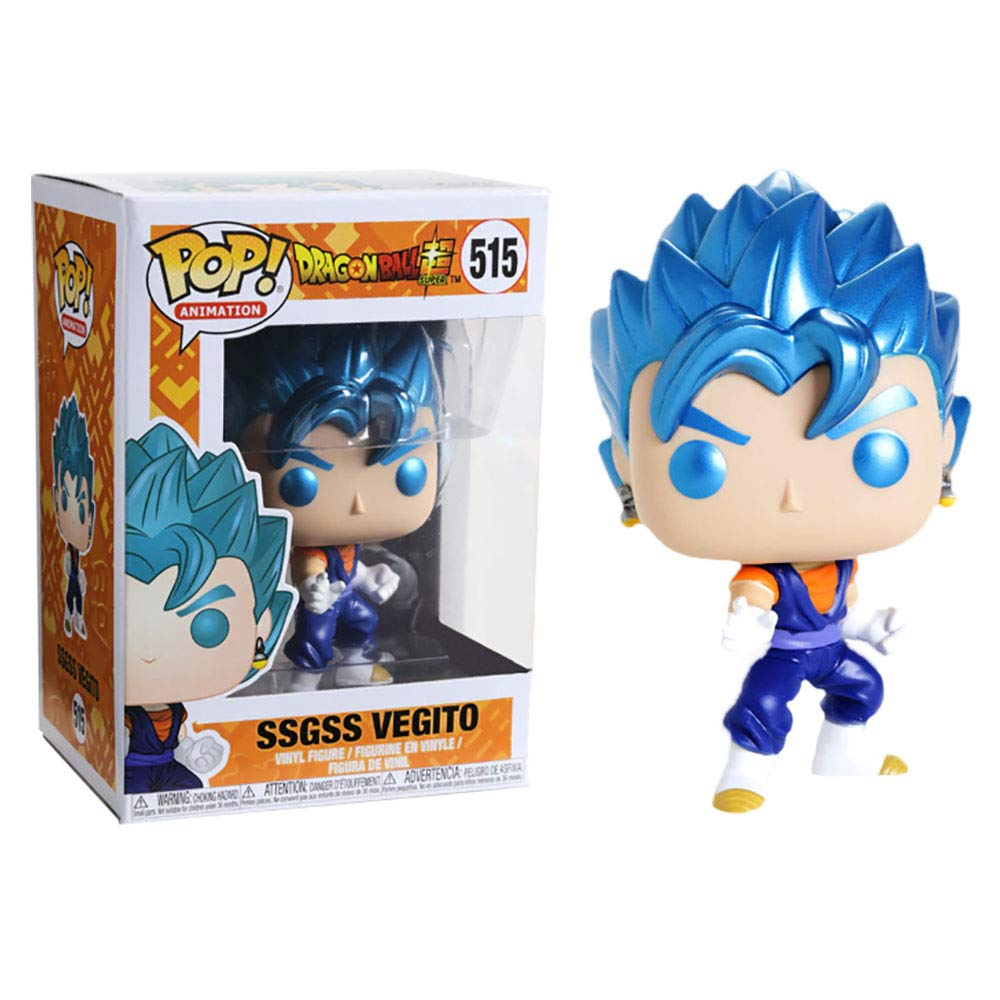 SSGSS Vegito Metallic Figure Dragon Ball Super Funko Pop Animation 3.75 Inches - Funko Pop 515
