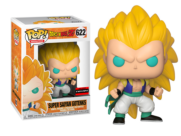 Super Saiyan Gotenks Figure AAA Exclusive Dragon Ball Super Funko Pop Animation 3.75 Inches - Funko Pop 622