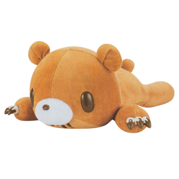 Gloomy Bear Plush Doll Laying Down, Tummy Pocket, Brown GP #577 18 Inches