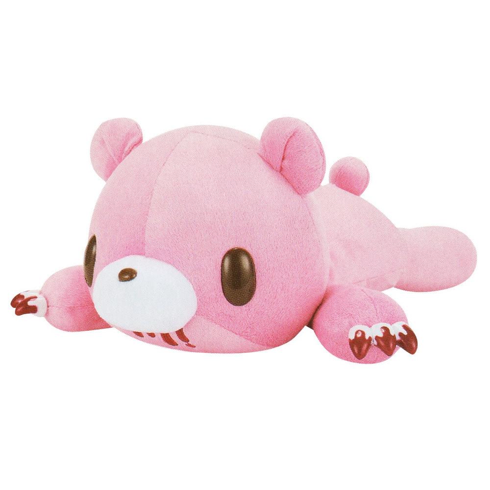 Gloomy Bear Plush Doll Laying Down, Tummy Pocket, Pink GP #577 18 Inches