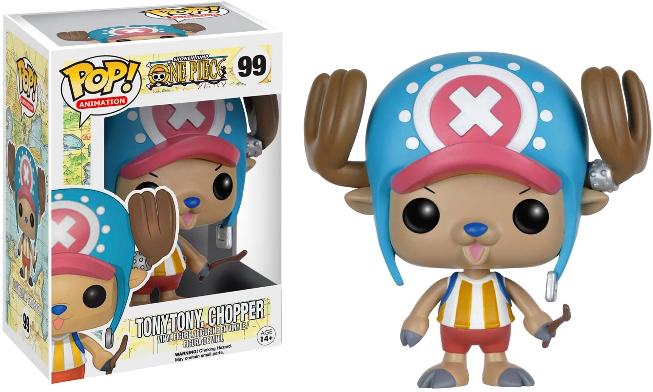 Tony Tony Chopper One Piece Funko Pop Animation 3.75 Inches Funko Pop 99