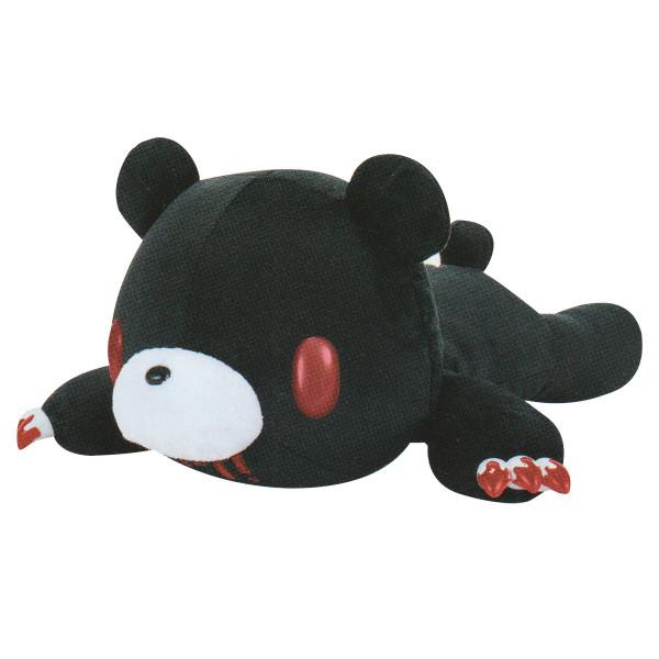 Gloomy Bear Plush Doll Laying Down, Tummy Pocket, Black GP #577 18 Inches