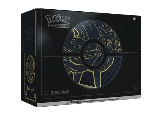 Pokemon Trading Card Game Sword & Shield Elite Trainer Box Plus Zacian