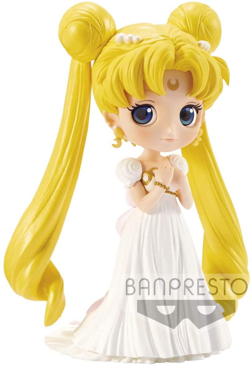 Sailor Moon Figure, Princess Serenity Q Posket, Banpresto Bandai
