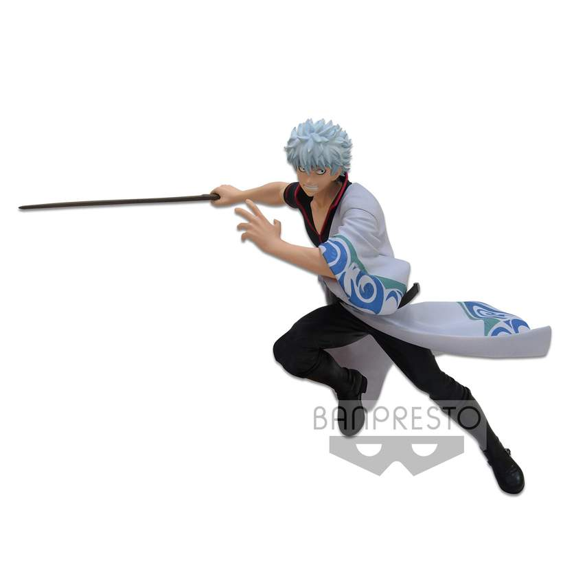 Sakata Gintoki Figure, Gintama Final, DXF Figure, Banpresto