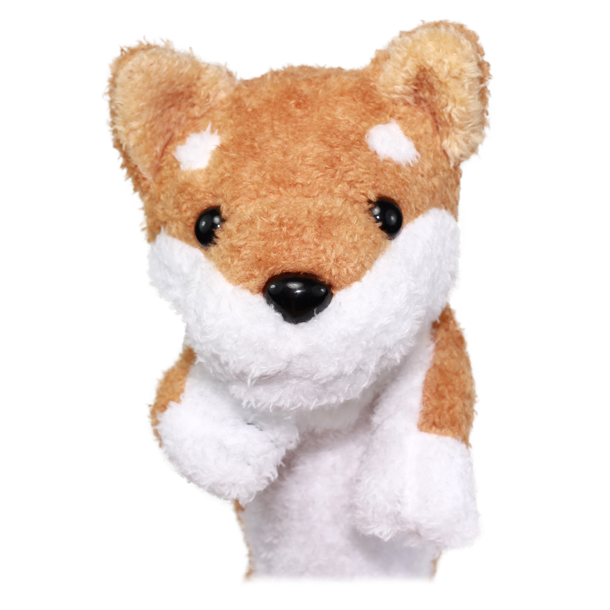 Dog Pencil Case Pouch Stuffed Animal Back To School Collection Fluffy Brown Welsh Corgi Plush 10 Inches