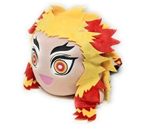 Kyojuro Rengoku Plush Doll, Laying Down, Demon Slayer, Kimetsu no Yaiba, Big Size, Sega