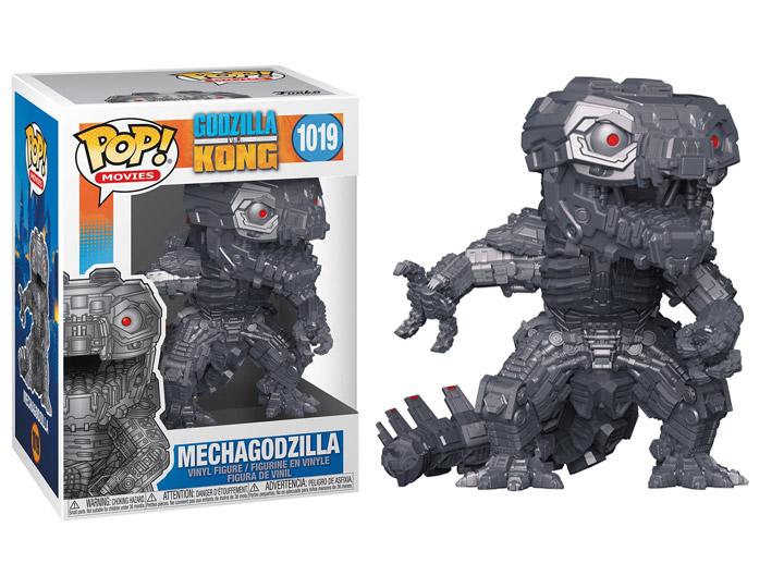 Mechagodzilla Figure Godzilla vs Kong Funko Pop Animation 3.75 Inches Funko Pop 1019