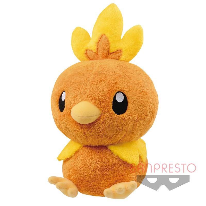 Torchic, Plush Toy, Banpresto, Sun & Moon, Pokemon, Fuzzy, 15 Inches
