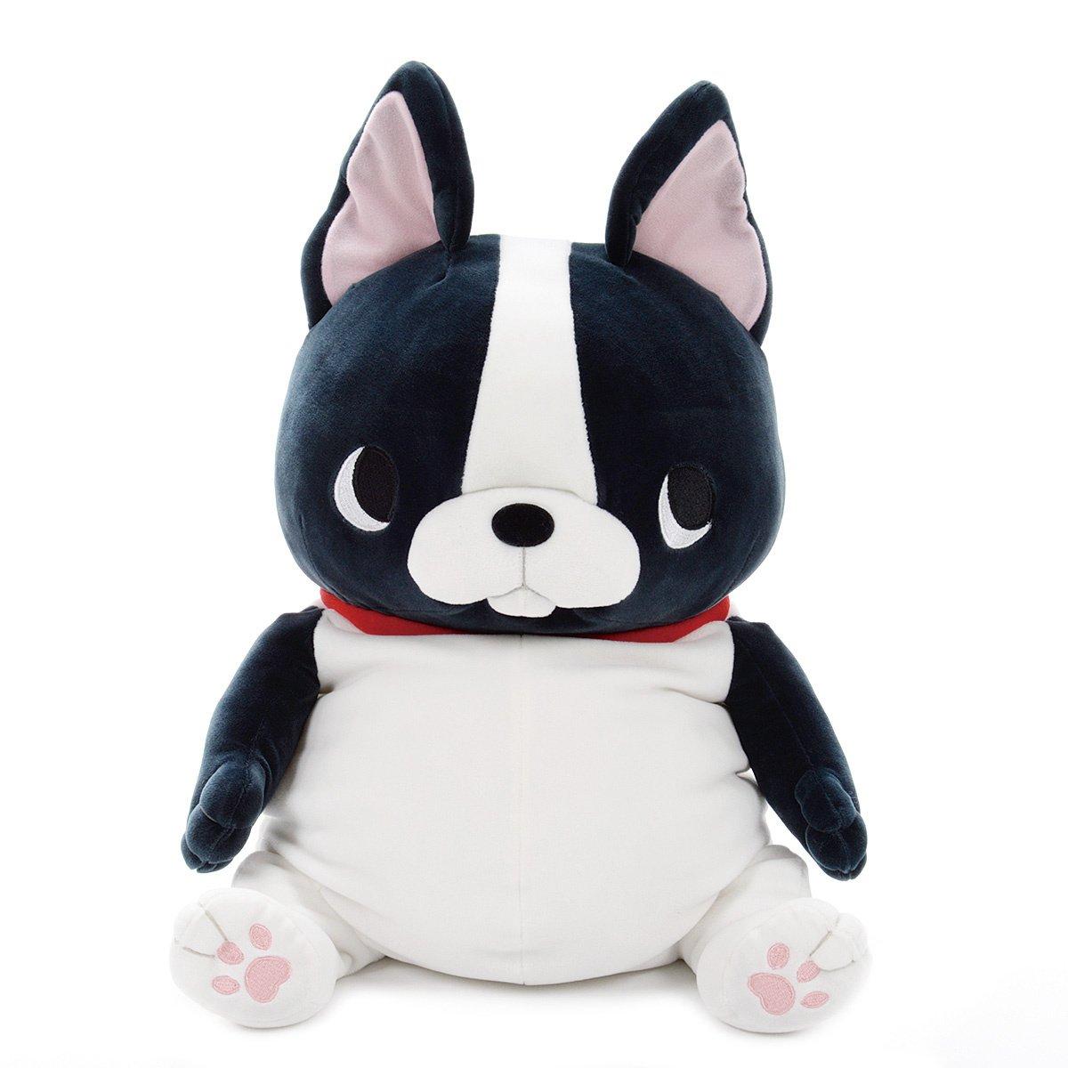 Plush Pug Amuse Buruburu Boo Boo Black White 16 Inches