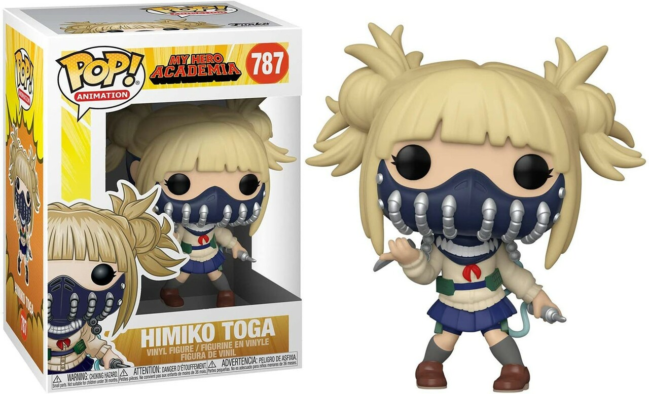 Himiko Toga My Hero Academia Funko Pop Animation 3.75 Inches Funko Pop 787