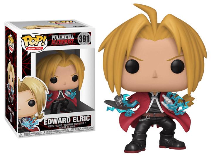 Edward Elric Fullmetal Alchemist Funko Pop Animation 3.75 Inches Funko Pop 391