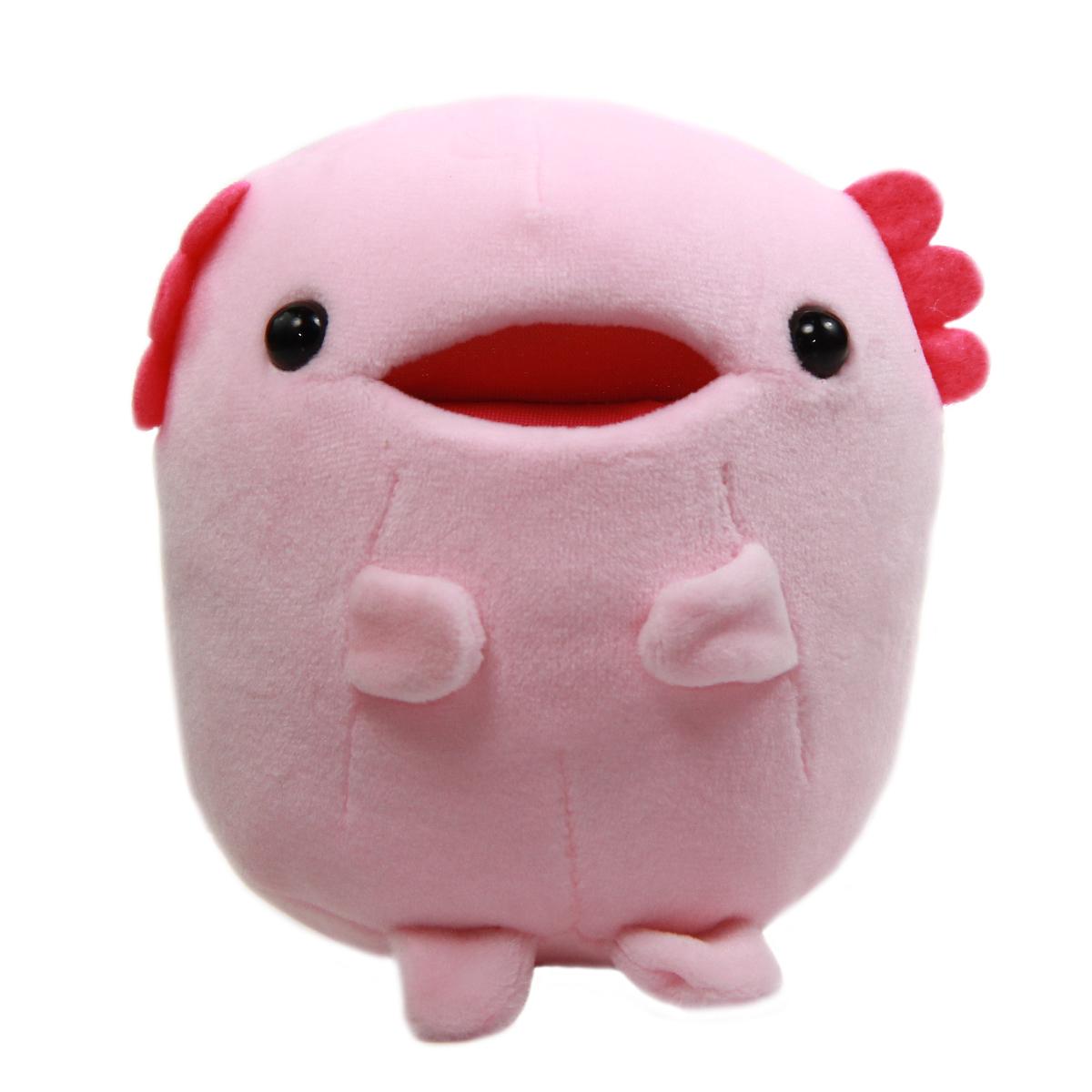 Axolotl Plush Toy Tachippa!! Standing Super Soft Stuffed Animal Pink Uparupa 5